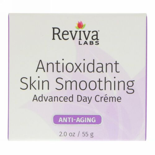 Reviva Labs, Antioxidant Skin Smoothing, Advanced Day Cream, Anti-Aging , 2 oz (55 g) (Discontinued Item)