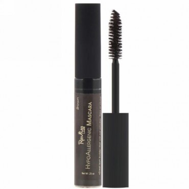 Reviva Labs, Hypoallergenic Mascara, Brown, 0.25 oz (7 g) (Discontinued Item)