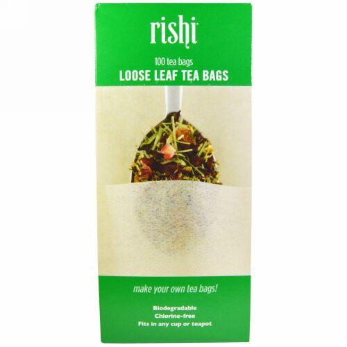 Rishi Tea, Loose Leaf Tea Filter Bags, 100 Bags