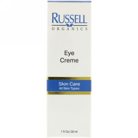 Russell Organics, アイクリーム、1 fl oz (30 ml) (Discontinued Item)
