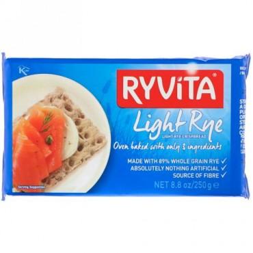Ryvita, 全粒 ライ麦 クリスプブレッド、 クランチライト ライ麦 、 8.8 oz (250 g) (Discontinued Item)