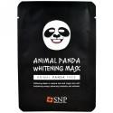 SNP, Animal Panda Whitening Mask, 10 Sheets x (25 ml) Each (Discontinued Item)