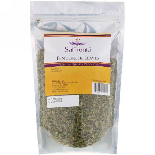 Saffronia, フェヌグリークリーフ、6オンス (Discontinued Item)