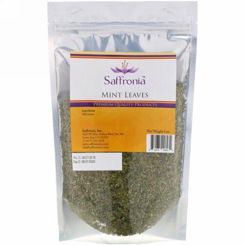 Saffronia, ミントリーフ、6 oz (Discontinued Item)