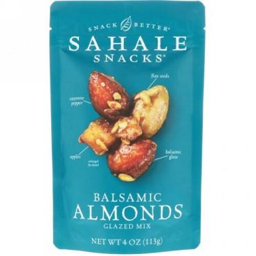 Sahale Snacks, グレーズドミックス、バルサムアーモンド、4オンス (113 g) (Discontinued Item)