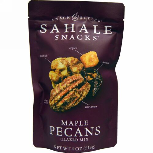 Sahale Snacks, スナックベター®, メープルペカン,  4.0 オンス (113 g)