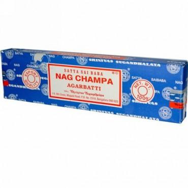 Sai Baba, サティア, ナグチャンパ, アガバティ お香, 100 g