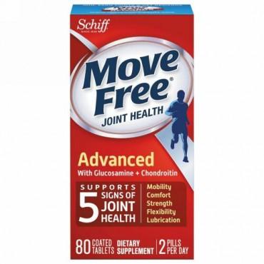 Schiff, 自由な動き(Move Free), 関節の健康, 80粒(コーティング錠) (Discontinued Item)