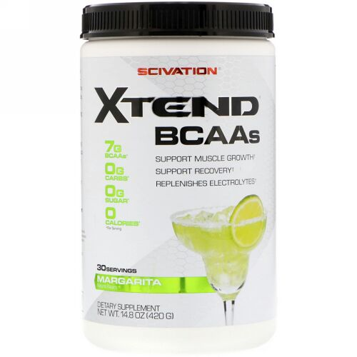 Scivation, Xtend、BCAAs、マルガリータ、14.8 oz (420 g) (Discontinued Item)