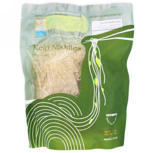Sea Tangle Noodle Company, Kelp 緑茶成分配合ヌードル, 12 オンス (340 g)