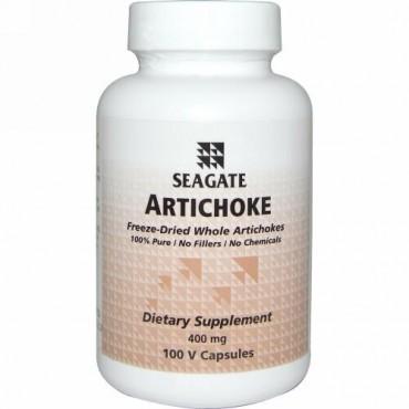 Seagate, Artichoke, 400 mg, 100 V Capsules