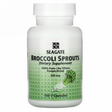 Seagate, ブロッコリー・スプラウト,  250 mg, 100 ベジタブルカプセル