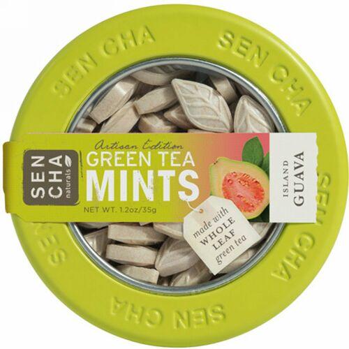 Sencha Naturals, 緑茶ミント、アイランドグアバ、1.2 oz (35 g)