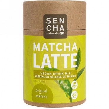 Sencha Naturals, 抹茶ラテ、オリジナル抹茶、8.5オンス (240 g) (Discontinued Item)