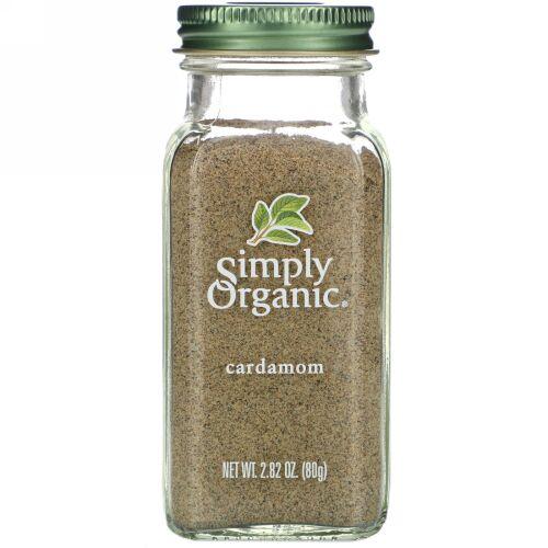 Simply Organic, カルダモン、2.82オンス(80 g)