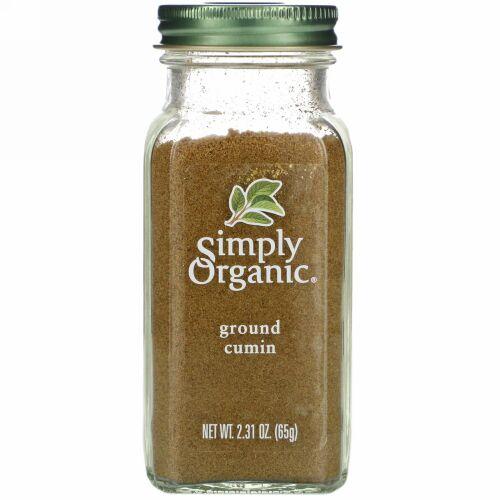 Simply Organic, クミン、2.31オンス(65 g)