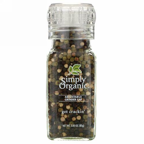 Simply Organic, Get Crackin, 胡椒の実ミックス, 3.00 oz (85 g)