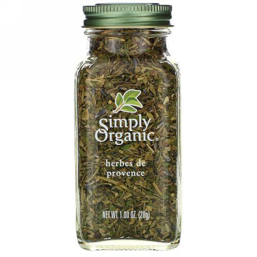 Simply Organic, Herbs de Provence, 1.00 oz (28 g)