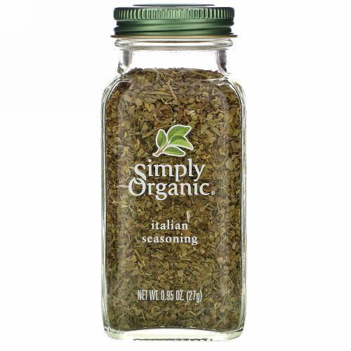 Simply Organic, イタリアン・シーゾニング 0.95 oz (27 g)