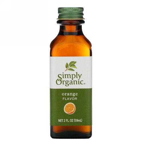 Simply Organic, オレンジ フレーバー、 2 fl oz (59 ml)
