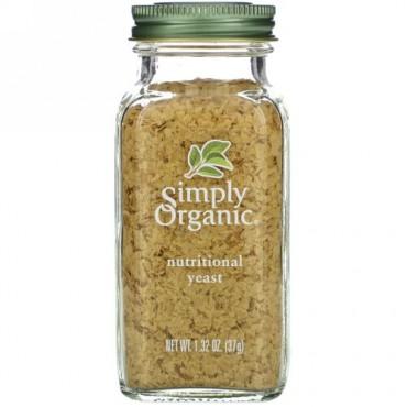 Simply Organic, オーガニック、栄養イースト、1.32オンス (37 g)