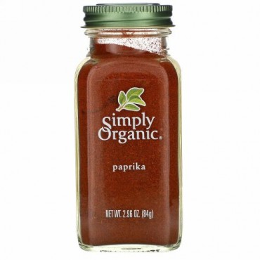 Simply Organic, パプリカ 2.96 oz (84 g)