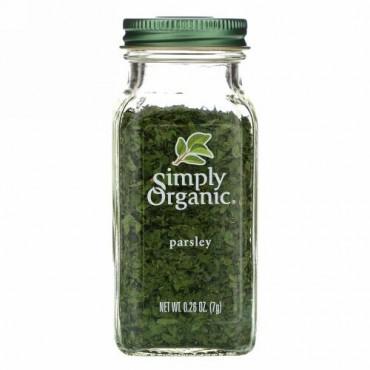 Simply Organic, パセリ 0.26 oz (7 g)