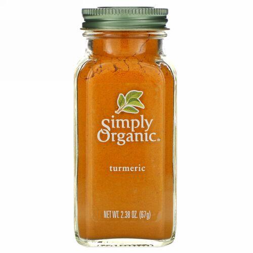 Simply Organic, ターメリック 2.38 oz (67 g)