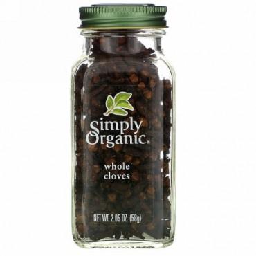Simply Organic, ホールクローブ、 2.05オンス (58 g)