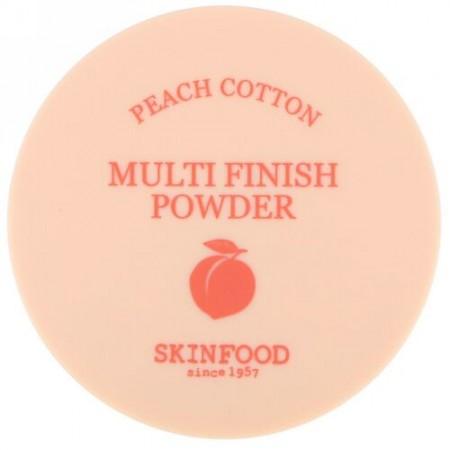 Skinfood, Peach Cotton, Multi Finish Powder, 5 g (Discontinued Item)
