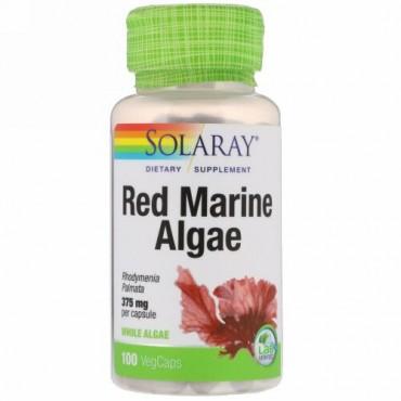 Solaray, 紅藻類(Red Marine Algae)、375 mg、ベジタリアンカプセル 100 錠
