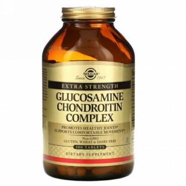 Solgar, グルコサミン コンドロイチン複合体, 特別強度, 300 錠剤