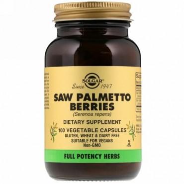 Solgar, Saw Palmetto Berries, 100 Vegetable Capsules