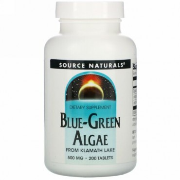 Source Naturals, ブルーグリーン海藻、 200タブレット