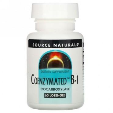 Source Naturals, Coenzymated B-1, 60 Lozenges