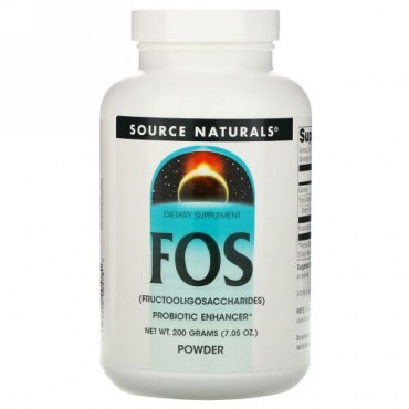 Source Naturals, FOS パウダー、7.05 oz (200 g)