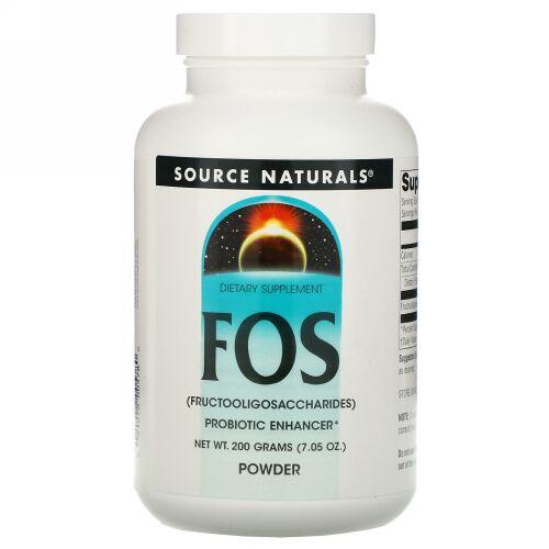 Source Naturals, FOS パウダー、7.05 oz (200 g)