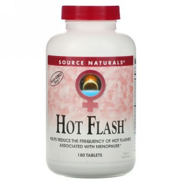 Source Naturals, Hot Flash、タブレット 180錠