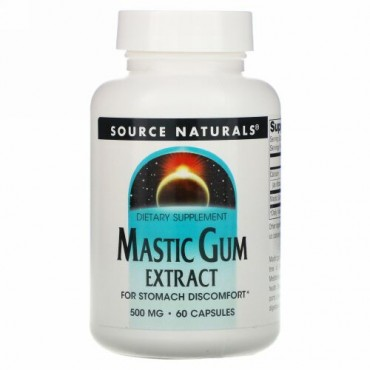 Source Naturals, Mastic Gum Extract, 500 mg, 60 Capsules