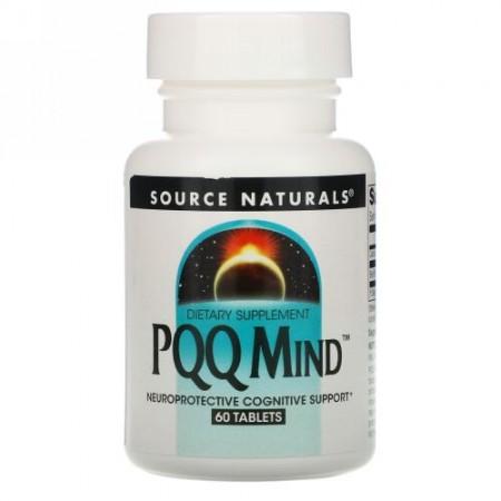 Source Naturals, PQQ マインド、 60 タブレット