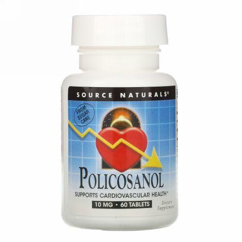 Source Naturals, ポリコサノール、60錠