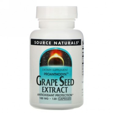Source Naturals, Proanthodyn, Grape Seed Extract, 100 mg, 120 Capsules