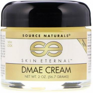 Source Naturals, Skin Eternal DMAEクリーム、2オンス (56.7 g)