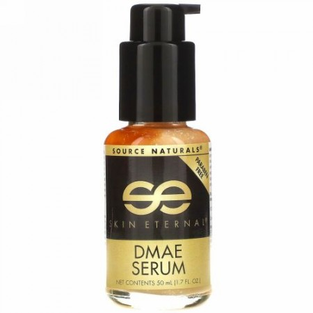 Source Naturals, スキンエターナルDMAE セラム、 1.7 fl oz (50 ml)