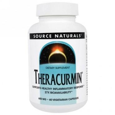 Source Naturals, Theracurmin, 600 mg, 60 Vegetarian Capsules