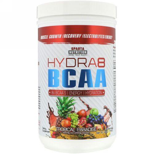 Sparta Nutrition, Hydra8 BCAA, Tropical Paradise, 17.14 oz (486 g) (Discontinued Item)