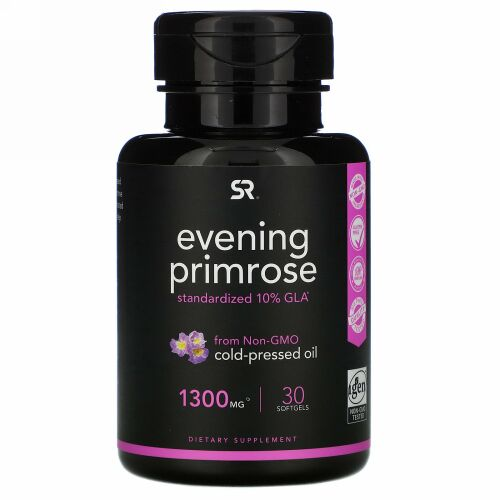 Sports Research, Evening Primrose, 1,300 mg, 30 Softgels