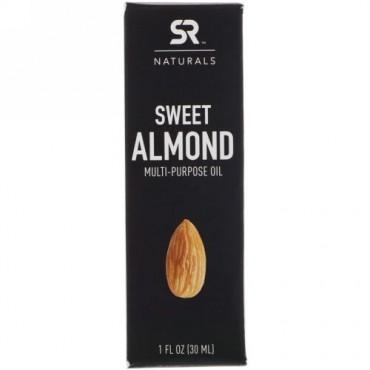 Sports Research, Sweet Almond Multi-Purpose Oil , 1 fl oz (30 ml) (Discontinued Item)