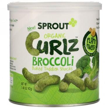 Sprout Organic, カールズ、ブロッコリー、1.48 oz (42 g)