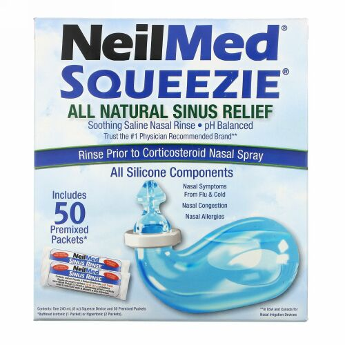 Squip, Squeezie, All Natural Sinus Relief, 1 Kit